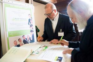 Einhorn Unterzeichnung Deklaration